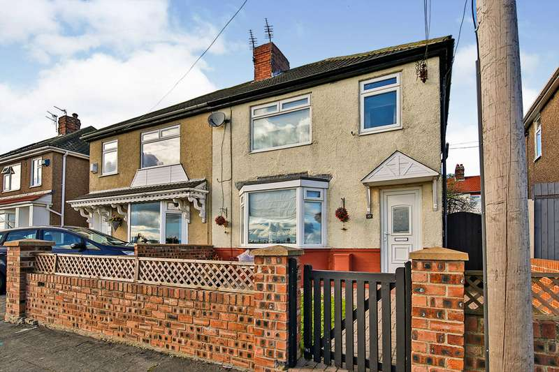 3 Bedrooms Semi Detached House for sale in Southside, Ferryhill, Durham, DL17