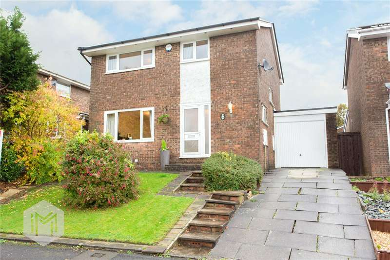 4 Bedrooms Detached House for sale in Higher Ridings, Bromley Cross, Bolton, BL7