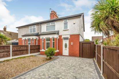 3 Bedrooms Semi Detached House for sale in Cleveleys Avenue, Thornton-Cleveleys, Lancashire, ., FY5