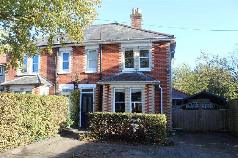4 Bedrooms Semi Detached House for sale in College Road, Ringwood, Hampshire, BH24
