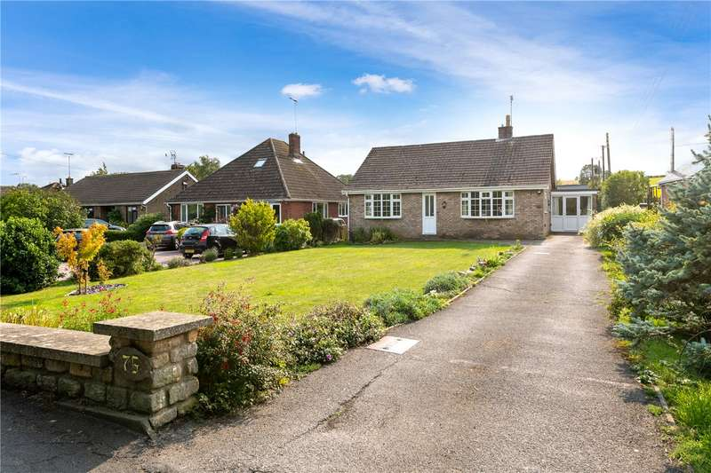 3 Bedrooms Detached Bungalow for sale in Main Street, Wilsford, Grantham, Lincolnshire, NG32