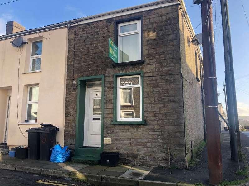 1 Bedroom End Of Terrace House for sale in Margaret Street, Merthyr Tydfil