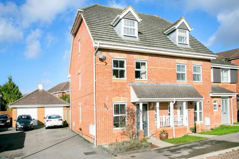 3 Bedrooms Town House for sale in Rycroft Meadow, Beggarwood, Basingstoke, RG22