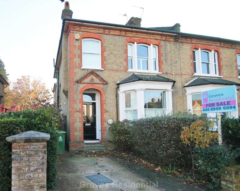 4 Bedrooms Semi Detached House for sale in Chestnut Grove, New Malden