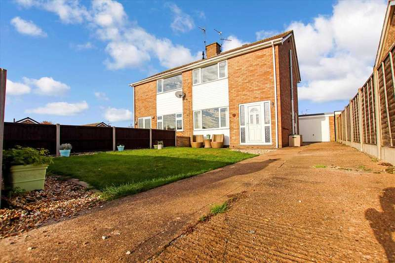 3 Bedrooms Semi Detached House for sale in Carral Close, Brant Road, Lincoln