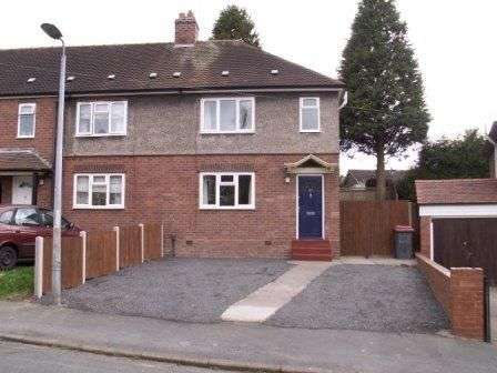 3 Bedrooms Semi Detached House for rent in Cranage Crescent, Wellington, Telford