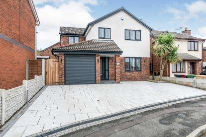 4 Bedrooms Detached House for sale in Parkway, Westhoughton, Bolton, Greater Manchester, BL5