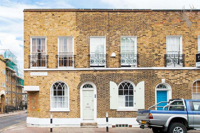 4 Bedrooms End Of Terrace House for sale in Jubilee Street, Whitechapel, London