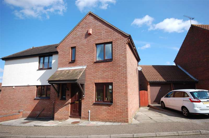 3 Bedrooms Semi Detached House for sale in Hallowell Down, South Woodham Ferrers, Chelmsford, Essex, CM3