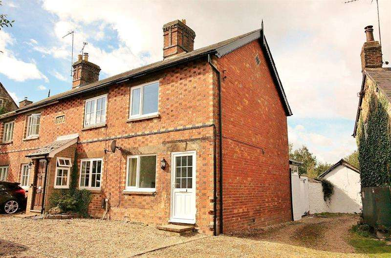2 Bedrooms End Of Terrace House for sale in Wheatsheaf Cottage, The Green, Culworth, Oxfordshire, OX17