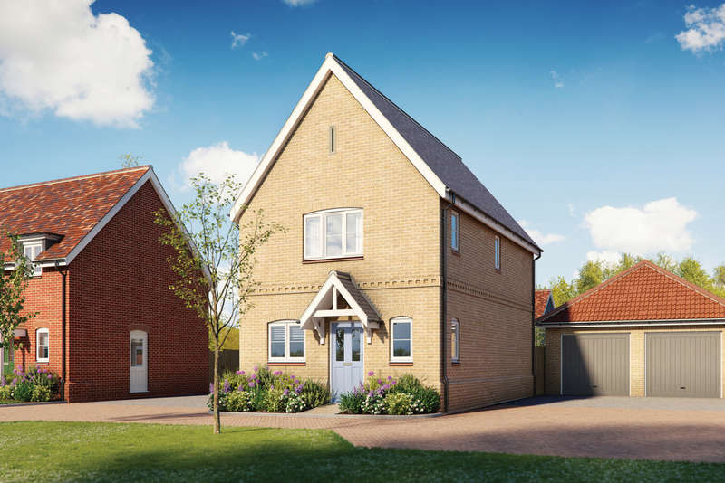 3 Bedrooms Detached House for sale in St Laurence View, Ridgewell, Essex