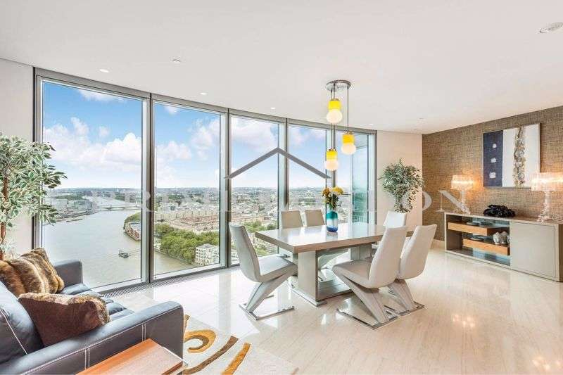 3 Bedrooms Property for rent in The Tower, One St George Wharf, Vauxhall