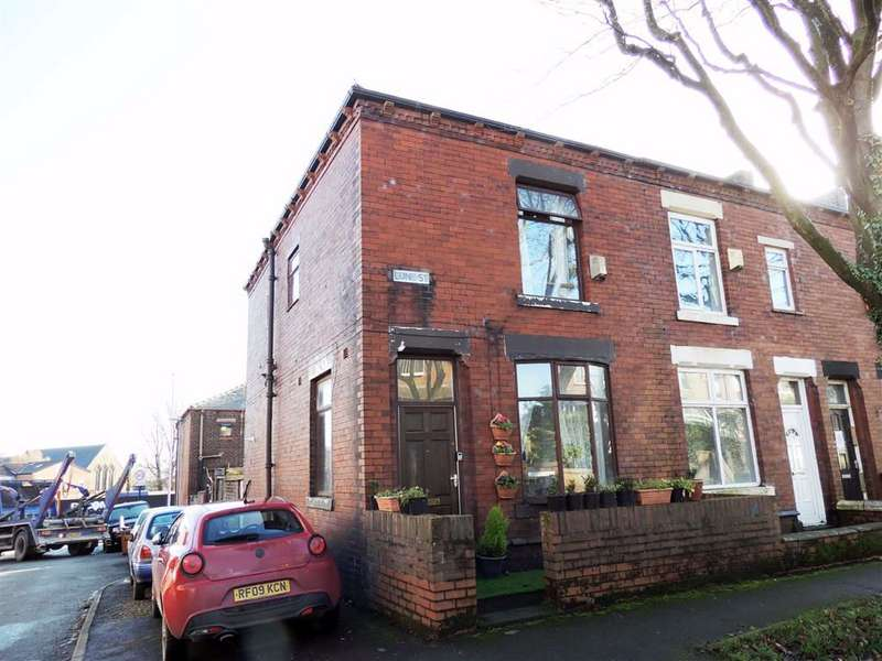 3 Bedrooms End Of Terrace House for sale in Lune Street, Coppice, Oldham