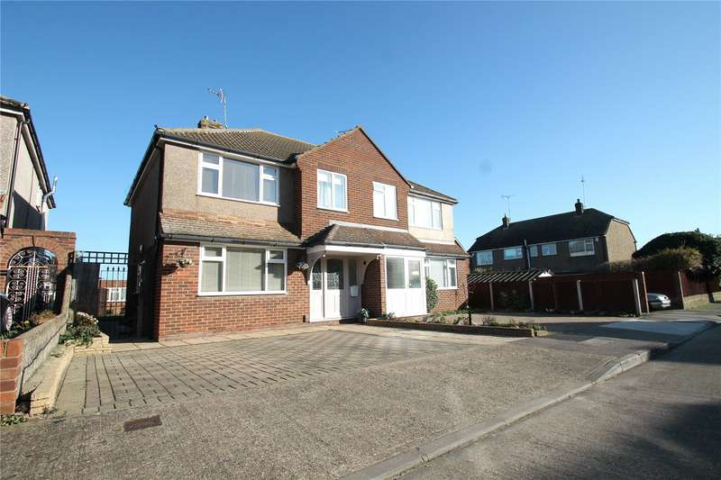 3 Bedrooms Semi Detached House for sale in Darenth Drive, Chalk, Kent, DA12