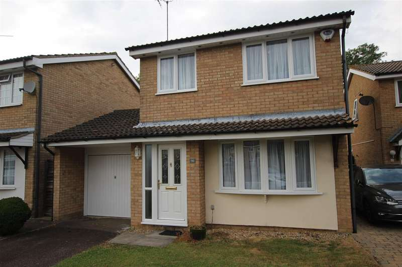 3 Bedrooms Link Detached House for rent in Longbrooke, Houghton Regis