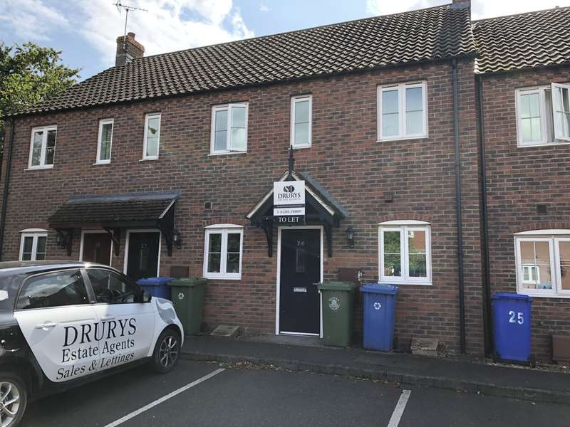 2 Bedrooms Terraced House for rent in The Paddock, Kirton, Boston, PE20