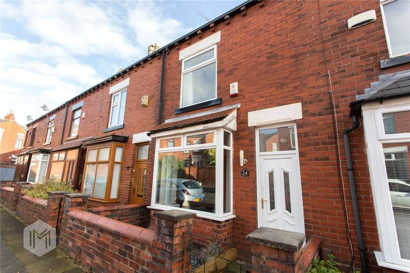 2 Bedrooms Terraced House for sale in Poplar Avenue, Bolton, Greater Manchester, BL1