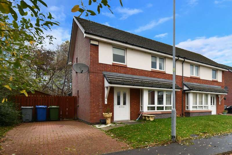 3 Bedrooms Semi Detached House for sale in Whistleberry Wynd, Hamilton, ML3