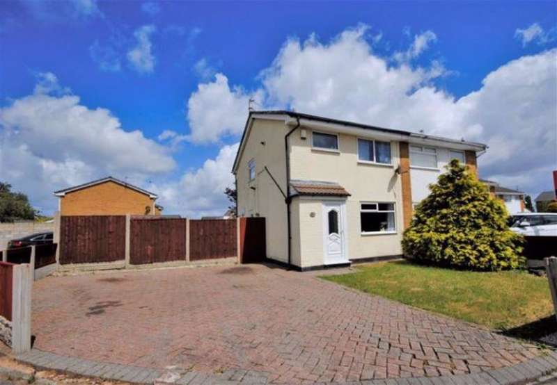 3 Bedrooms Semi Detached House for rent in Carr House Road, Moreton, Wirral