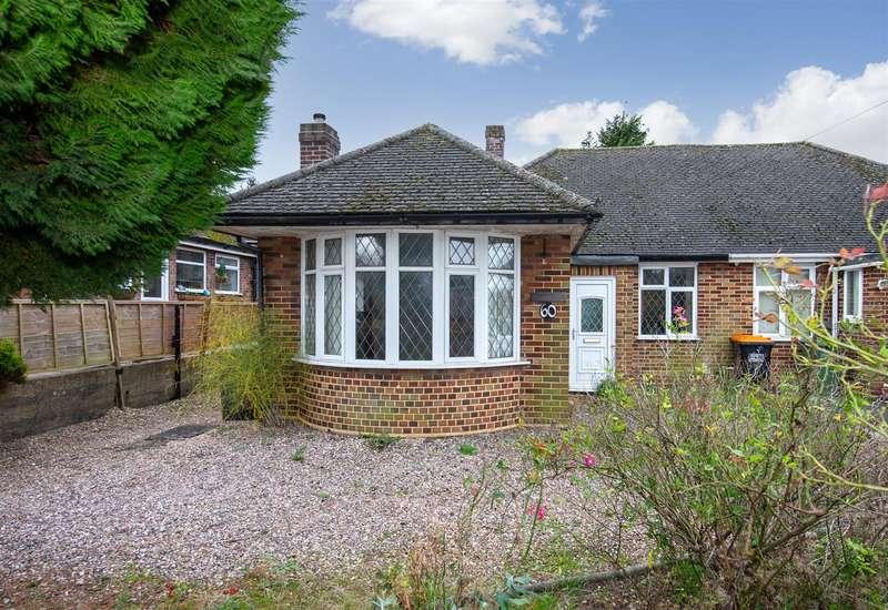 3 Bedrooms Semi Detached Bungalow for sale in Luton Road, Chalton