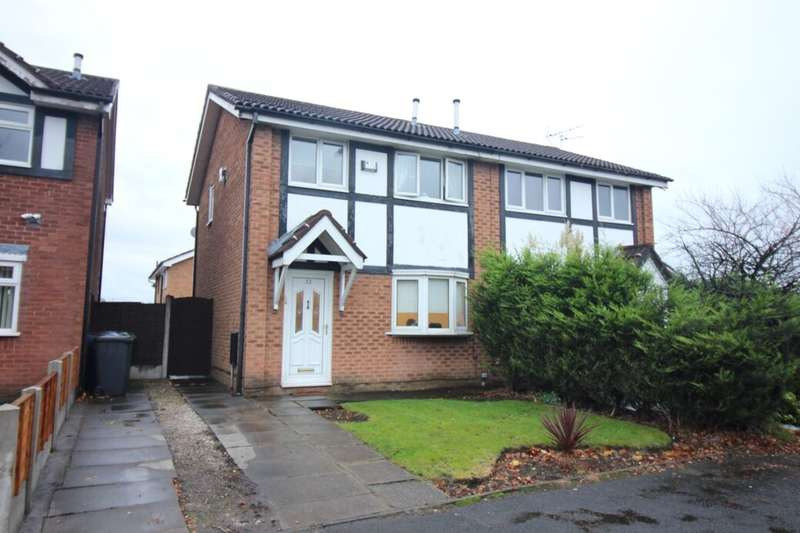 3 Bedrooms Semi Detached House for sale in Woodhill Road, Bury, BL8