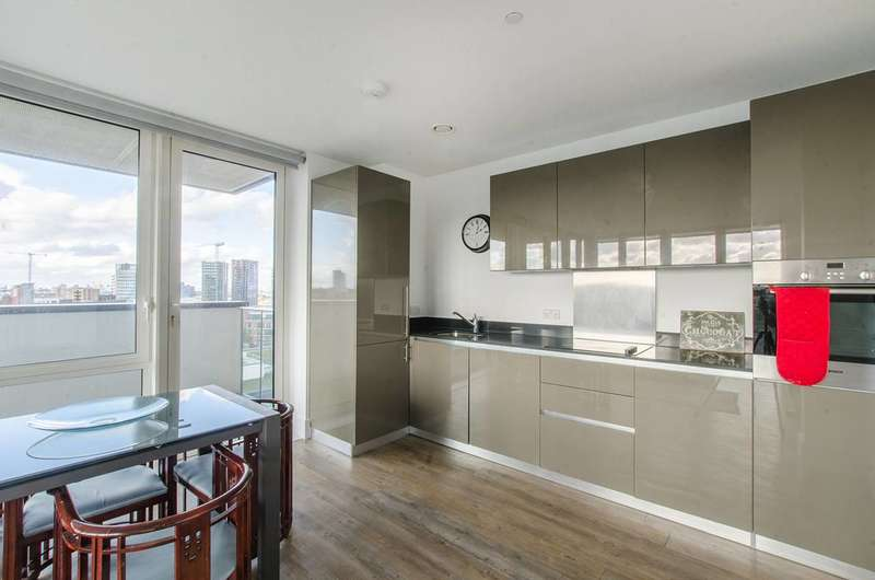 3 Bedrooms Flat for sale in Victory Parade, Woolwich Riverside, SE18