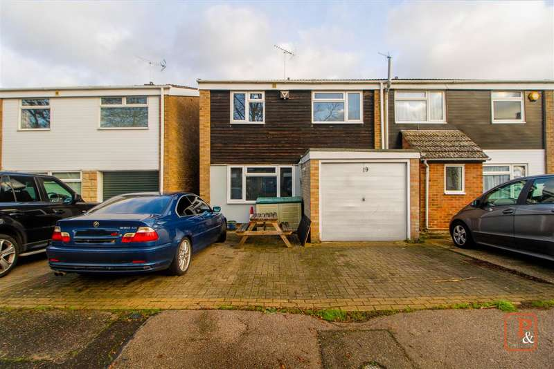 3 Bedrooms Semi Detached House for sale in York Place, Riverside, Colchester, CO1