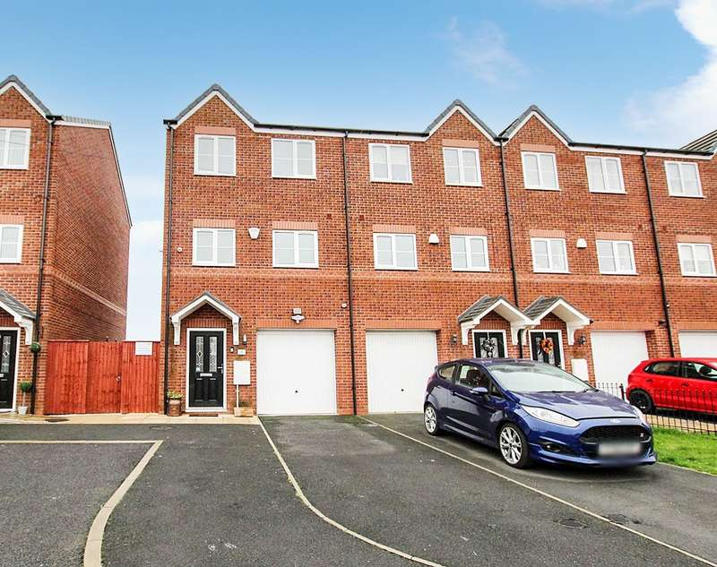 3 Bedrooms Town House for sale in Grimshaw Park, Abram, Wigan, WN2