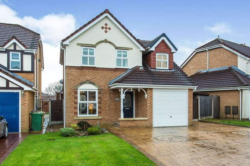 3 Bedrooms Detached House for sale in Redshaw Avenue, Bolton, Greater Manchester, BL2
