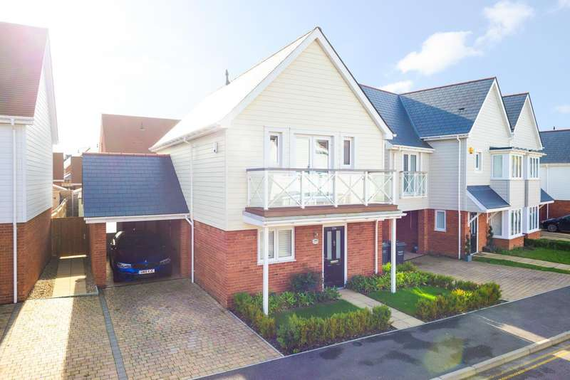 3 Bedrooms Detached House for sale in Manley Boulevard, Holborough Lakes, Snodland, ME6