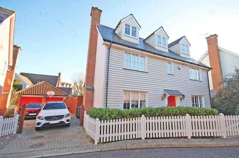 6 Bedrooms Detached House for sale in Thatchers Way, Great Notley, Braintree, CM77