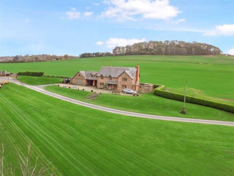 4 Bedrooms Detached House for sale in Upper Hill, Leominster