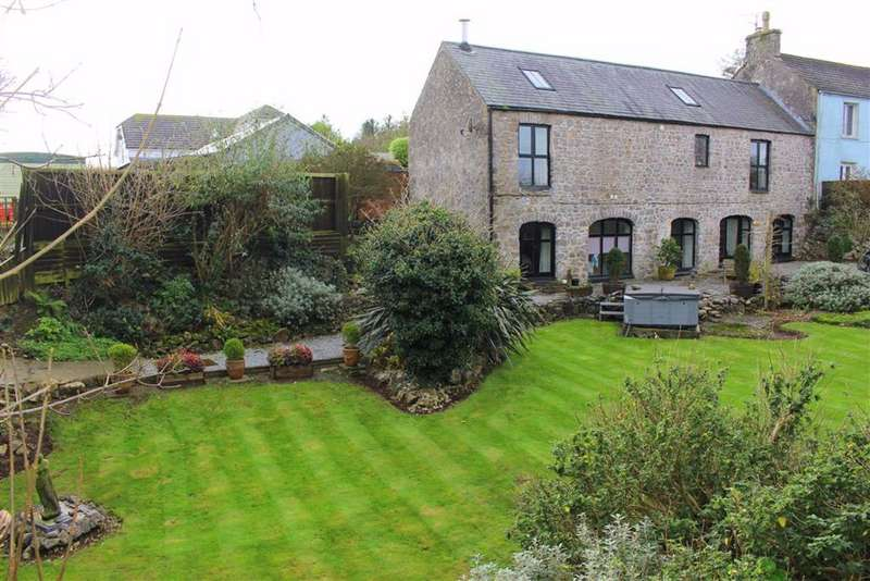 4 Bedrooms Semi Detached House for sale in Buttyland, Manorbier, Tenby