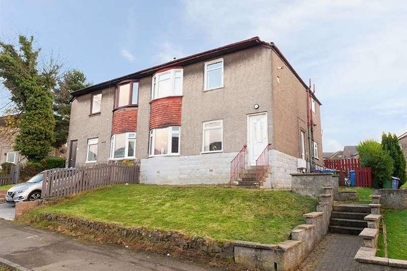 2 Bedrooms Flat for sale in Chirnside Road, Hillington, Glasgow, G52 2LF