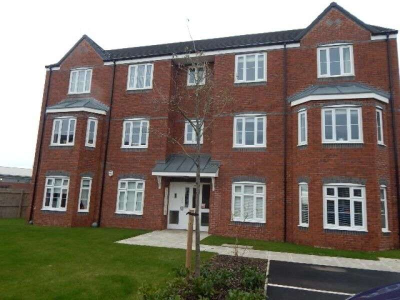 2 Bedrooms Flat for rent in Hoskins Lane, Scholars Rise, Middlesbrough, TS4
