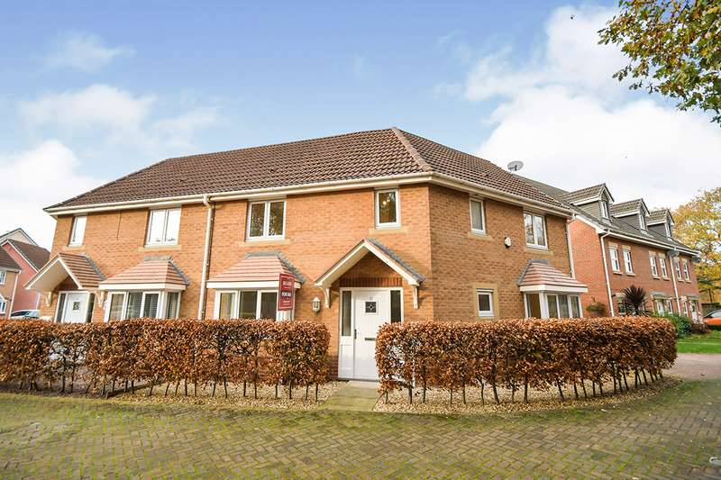 4 Bedrooms Semi Detached House for sale in Remus Court, North Hykeham, Lincoln, Lincolnshire, LN6