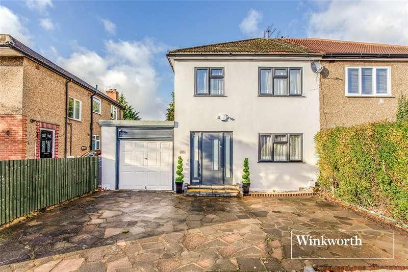 3 Bedrooms Semi Detached House for sale in Windsor Road, Barnet, EN5