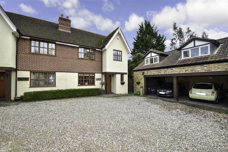 3 Bedrooms Semi Detached House for sale in Coach House Cottages, Maltings Drive, Epping