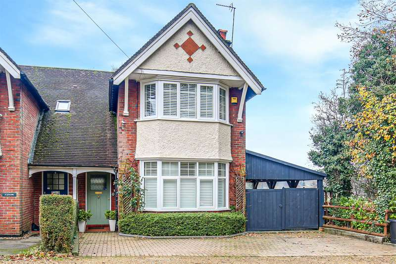 2 Bedrooms Semi Detached House for sale in Hurst Green Road, Oxted, Surrey, RH8