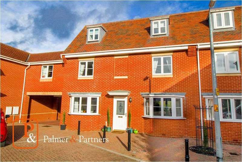 4 Bedrooms Town House for sale in Stevens Close, Colchester CO4