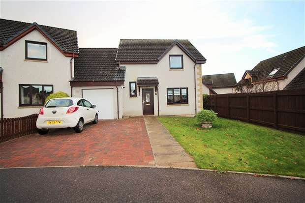 3 Bedrooms Link Detached House for sale in Knockomie Gardens, Forres