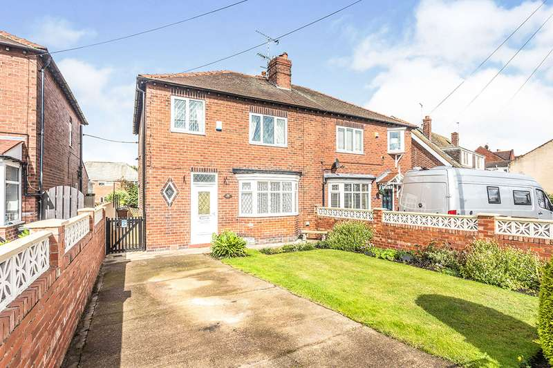 3 Bedrooms Semi Detached House for sale in Sunny Bank, Knottingley, West Yorkshire, WF11