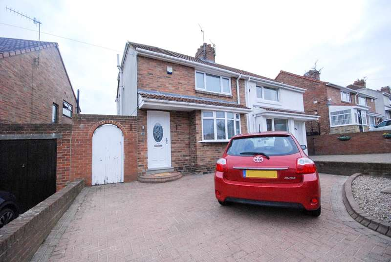 2 Bedrooms Semi Detached House for sale in Knightside Gardens, Dunston