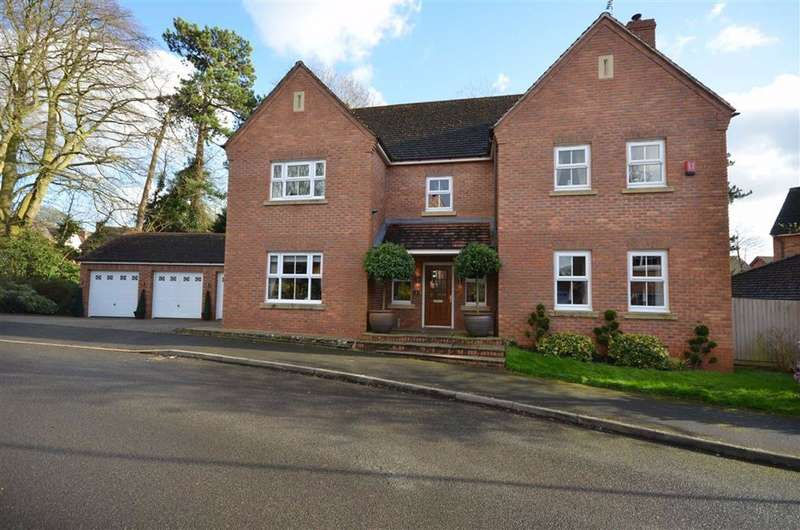 5 Bedrooms Detached House for sale in Westover Drive, Stone