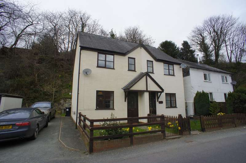 2 Bedrooms Semi Detached House for rent in 3 Quarry Cottages, Canal Road, Newtown, Powys, SY16 2JS