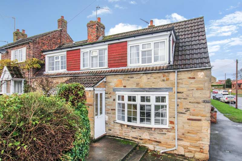 2 Bedrooms Semi Detached House for sale in Dishforth, Thirsk, YO7 3JU