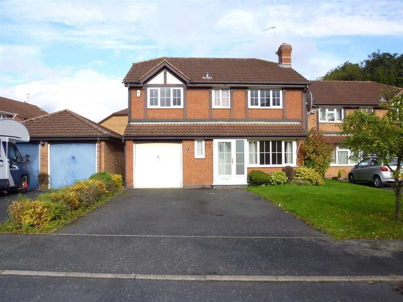 4 Bedrooms Detached House for rent in Elmbridge Drive, Shirley, B90 4YP