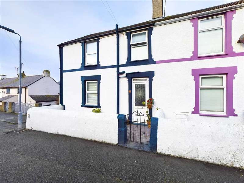 3 Bedrooms End Of Terrace House for sale in Porthyfelin, Holyhead