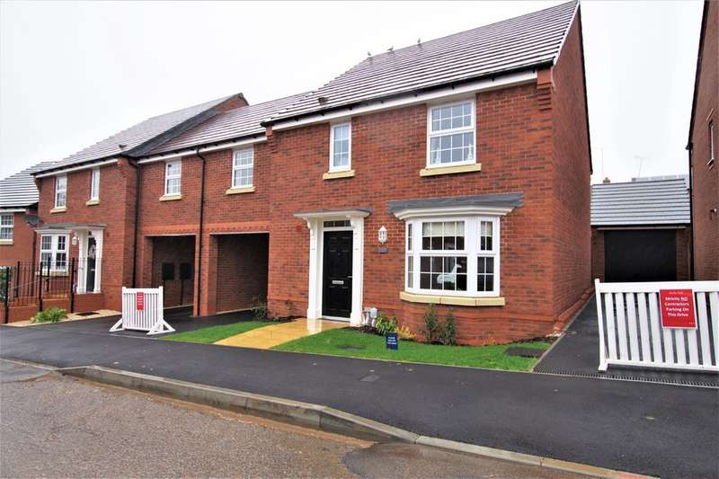 4 Bedrooms Semi Detached House for sale in The Hurst, Bentley Fields, Sorrell Close