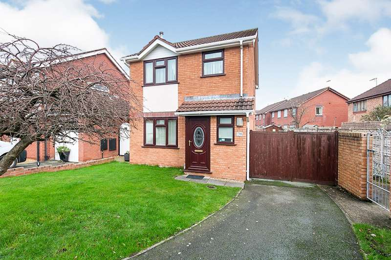 3 Bedrooms Detached House for sale in Fern Way, Rhyl, Denbighshire, LL18